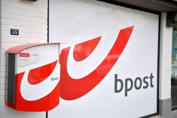 Een postkantoor van Bpost.