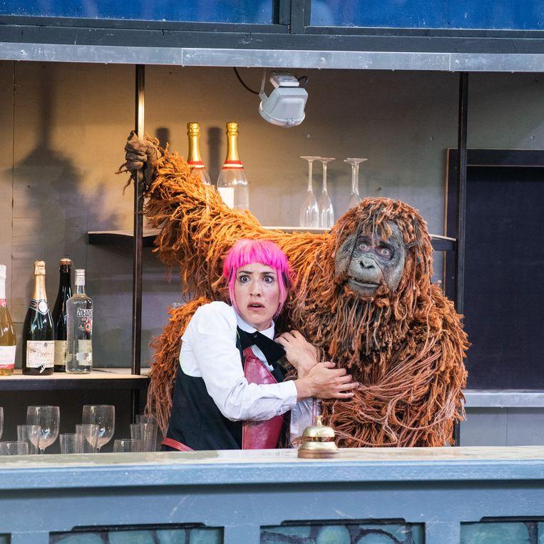 Wild, door Theatergezelschap Vis à Vis. Beeld Anna van Kooij
