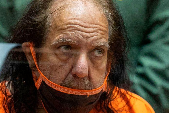 Ron Jeremy vrijdag in de rechtbank.