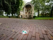 Wat doen die groene plaatjes in de Nijmeegse parken? Het is de glorieuze terugkeer van de groene lijn
