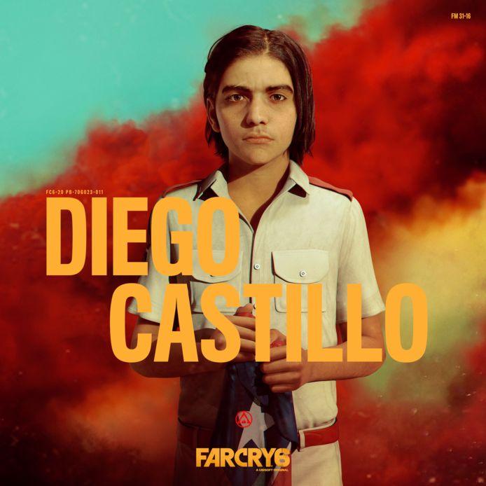Diego Castillo, de zoon van de dictator.