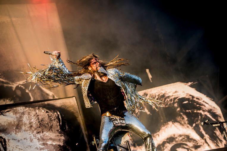 Rob Zombie op Graspop Metal Meeting. Beeld Stefaan Temmerman