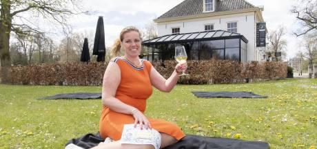 Happen en trappen tijdens Koningsdag in Hof van Twente