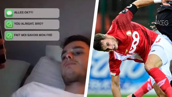 """Zinho Vanheusden reageert voor het eerst na zijn zware knieblessure: """"Ik zal sterker dan ooit terugkeren"""""""