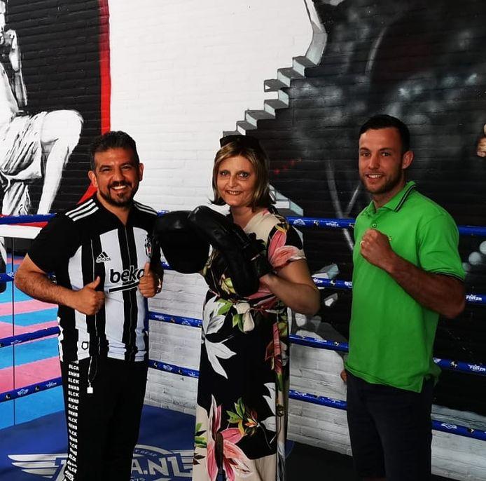 Van links naar rechts: Ali Gunyar, Nicky van Meegen en Robbie Hageman.