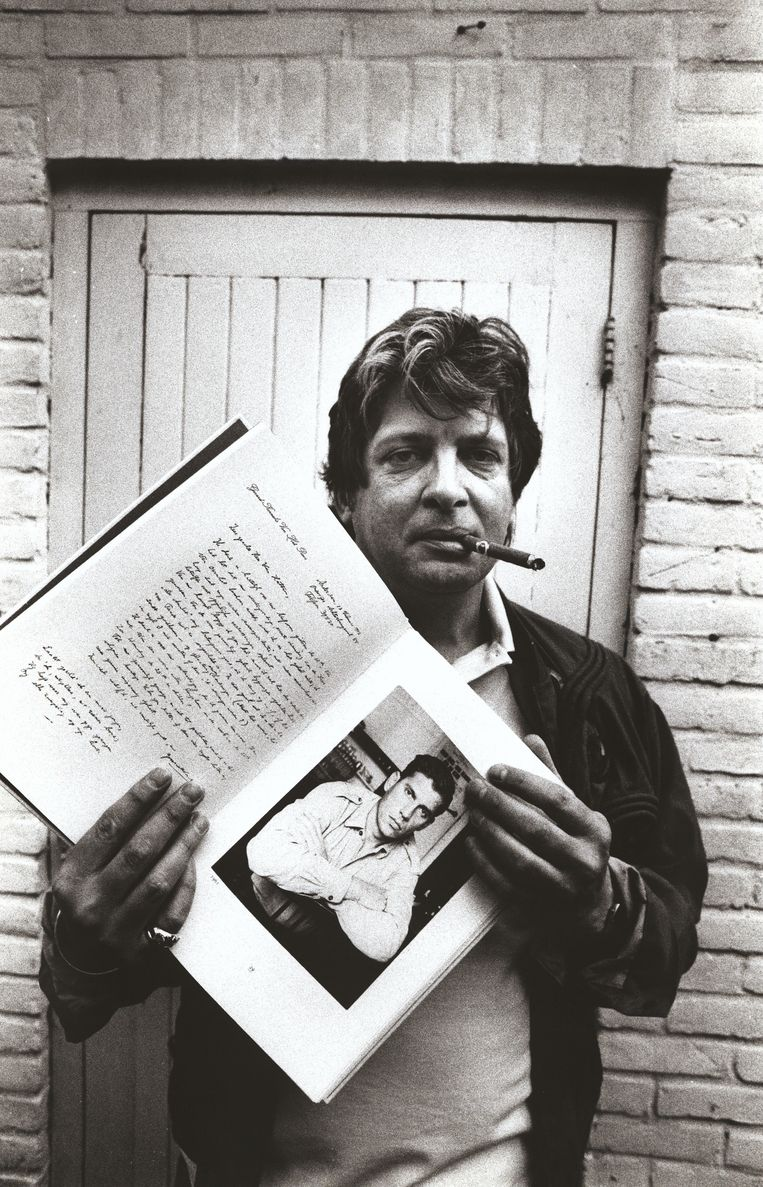 Joop Schafthuizen in 1992. Beeld Wubbo de Jong