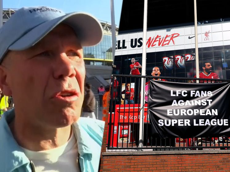 """Shame on you"", voetbalsupporters uiten ongenoegen over Super League"