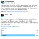 Rector Rik Van de Walle organiseerde een poll op sociale media
