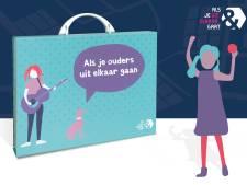 Koffer voor Tilburgse kinderen met ouders in scheiding: 'scheiding heeft altijd impact'