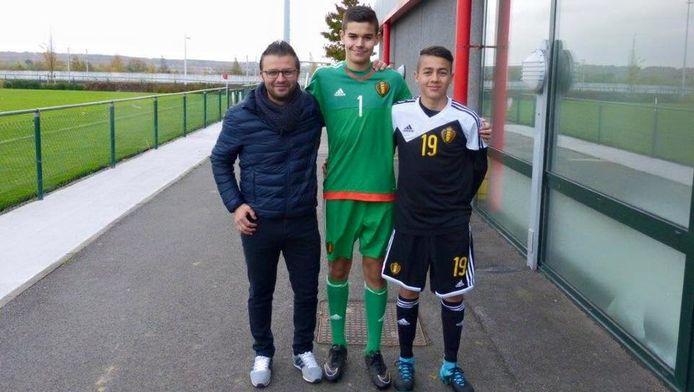 Zowel Nick Shinton (m) als Adnan Ugur (r) kiest voor Club Brugge