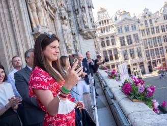 Olympisch finaliste Fanny Lecluyse bezoekt Padel Michelsberg op opendeurdag