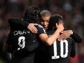 Forfaitzege PSG: Neymar, Mbappé en Cavani aan kanon