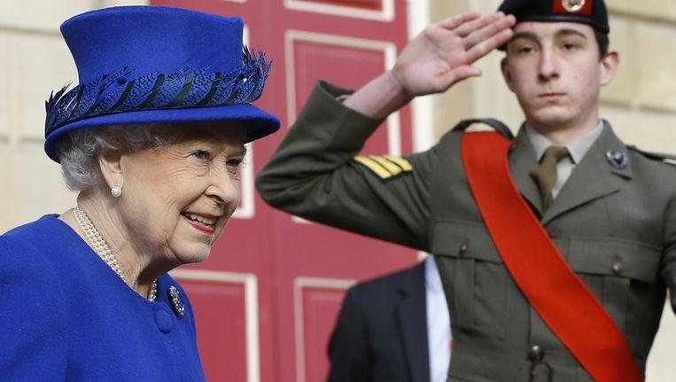 De Britse Queen Elizabeth. Beeld AP