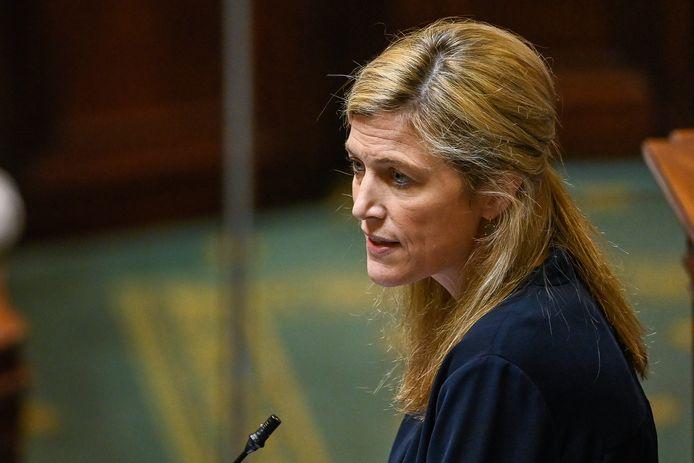 Annelies Verlinden (CD&V), minister van Binnenlandse Zaken.