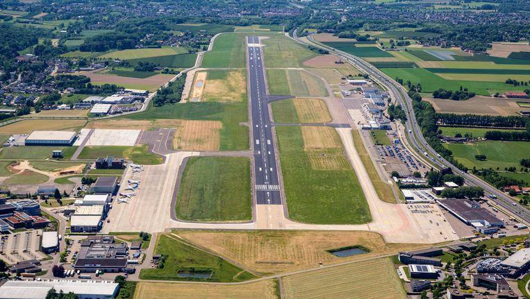 Maastricht-Aachen Airport wordt met 75 miljoen euro van de provincie overeind gehouden Beeld Bjorn van der Velpen