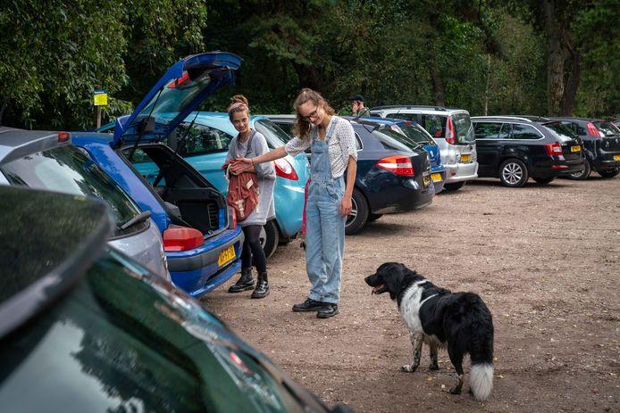 De hondenuitlaatplaats op het einde van de Kluizenaarsweg is binnenkort onbereikbaar.