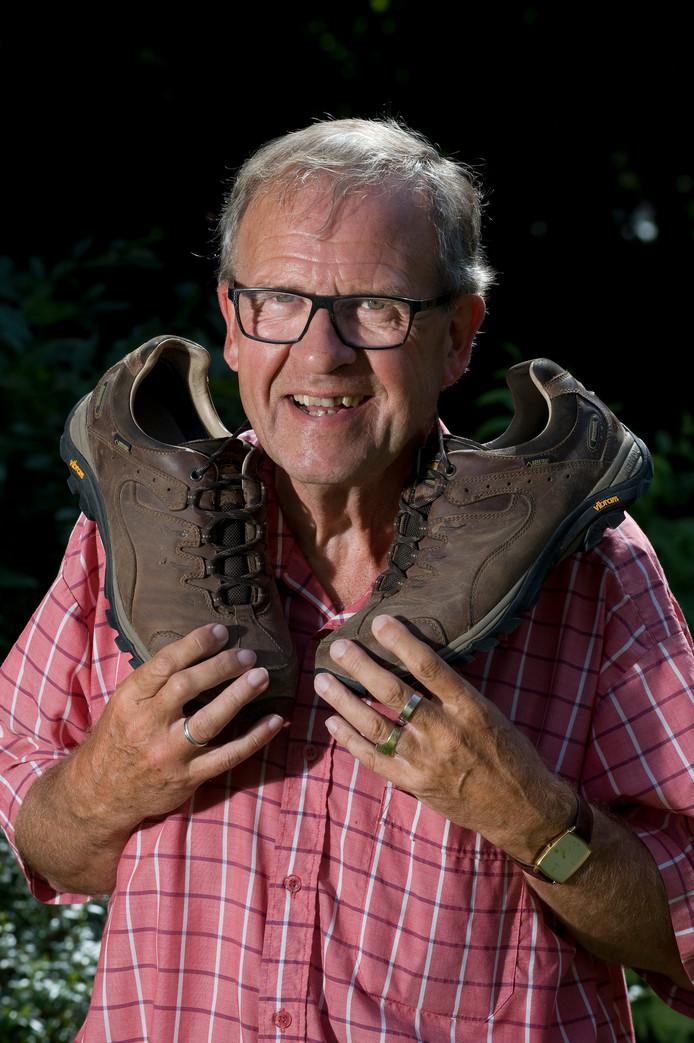 Henk Zomerdijk loopt momenteel de Vierdaagse, maar gaat aan de slag als voorzitter van de Klankbordgroep voor de versterking van de Waaldijkj in Neder-Betuwe.