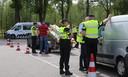 Grote verkeerscontrole door politie en Belastingdienst op N65 bij Vught