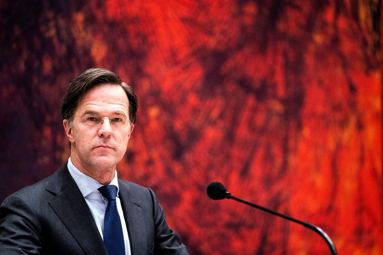 Mark Rutte. Beeld Hollandse Hoogte /  ANP
