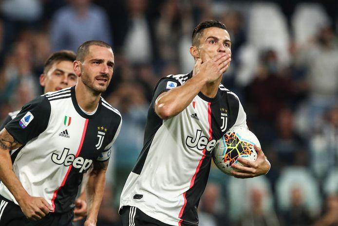 Cristiano Ronaldo maakte vanaf de stip de 2-1.
