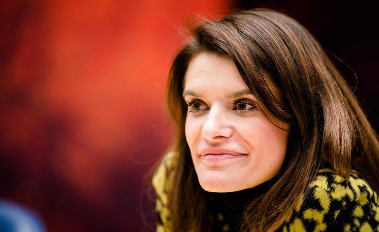 Staatssecretaris Barbara Visser van Defensie heeft de woede van bestuurders in Zeeland op de hals gehaald door te verzwijgen dat al langer naar alternatieven werd gezocht.  Beeld ANP