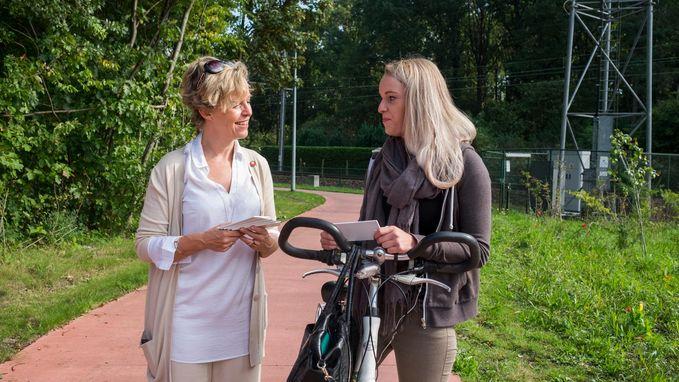 Hoffelijke fietsers gezocht