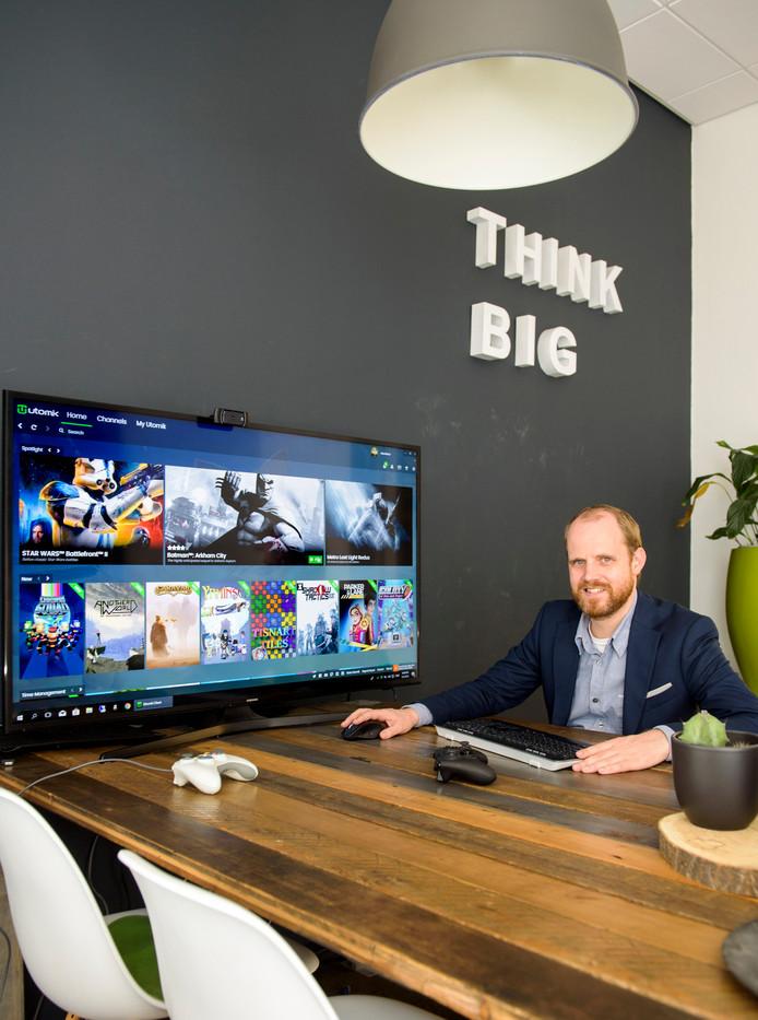 Doki Tops, oprichter van streamingdienst Utomik.