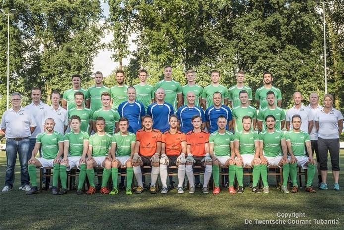 De teamfoto van HSC'21 voor komend seizoen.