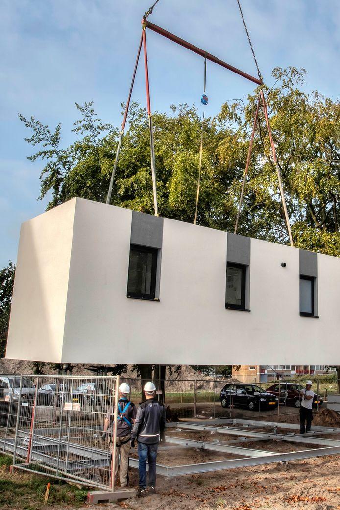 Ook in Bergen op Zoom wordt er geëxperimenteerd met tiny houses.