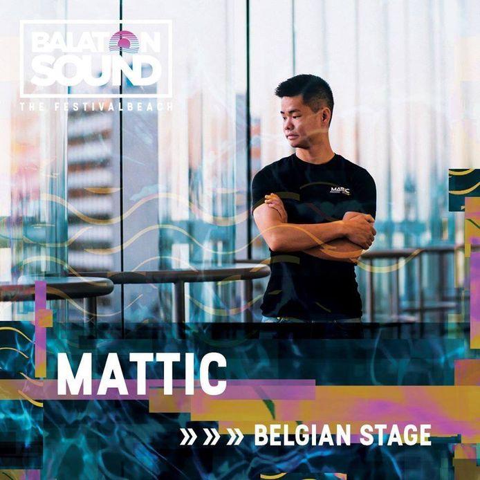 DJ Mattic trekt dit jaar naar Balaton Sound in Hongarije.