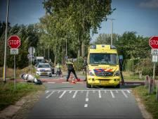 Opnieuw aanrijding op kruising met RijnWaalpad, bestuurder scooter gewond
