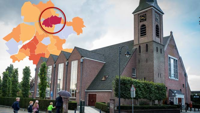Grote kerk in Staphorst grijpt in vanwege uitbarsting corona: 'Een aantal leden is ernstig ziek'