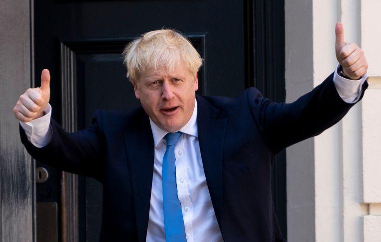 Als Boris Johnson na zijn politieke loopbaan Nederlander wil worden, moet hij de Britse nationaliteit opgeven.  Beeld AFP