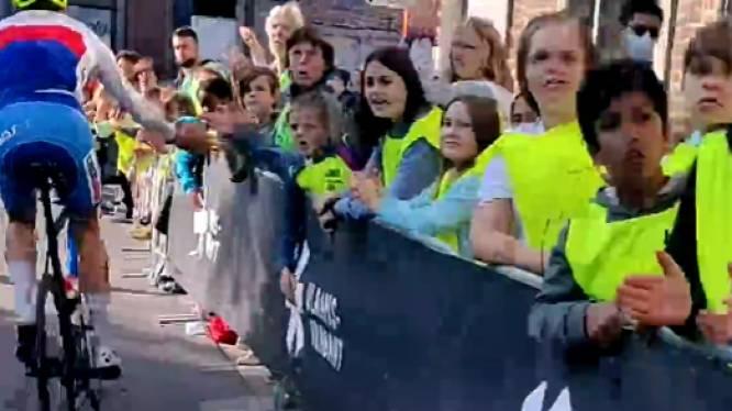 VIDEO: Kinderen dolenthousiast bij verkenning WK-parcours