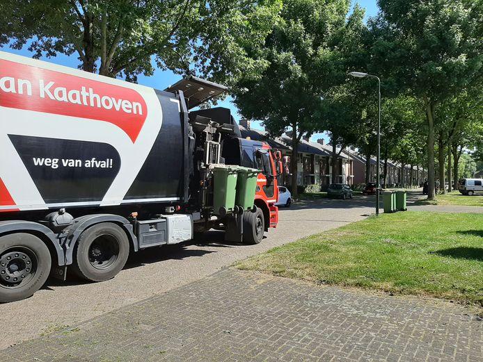 Van Kaathoven haalt de groene kliko's in Meierijstad gratis op. Dat geldt niet voor de grijze kliko's voor restafval.