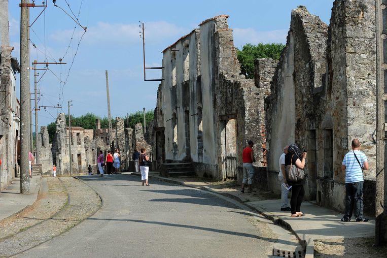 Oradour-sur-Glane. Beeld AFP