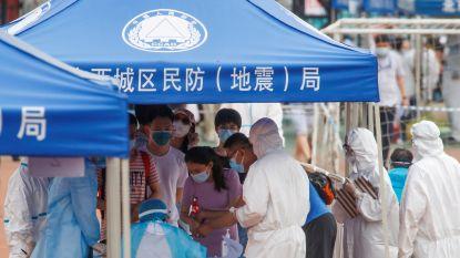 Peking test massaal na nieuwe uitbraak: 21 extra coronabesmettingen vastgesteld