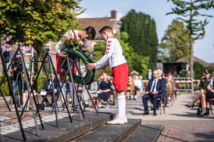 Herdenking in Driel. 2021