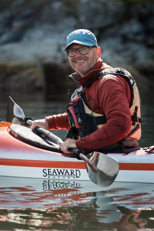 Geboren Elstenaar John Hermsen (52) runt sinds 2006 outdoorbedrijf Footprintbc.ca aan de Canadese westkust.
