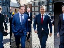 Gaan VVD, CDA, D66 en GroenLinks samen formeren?