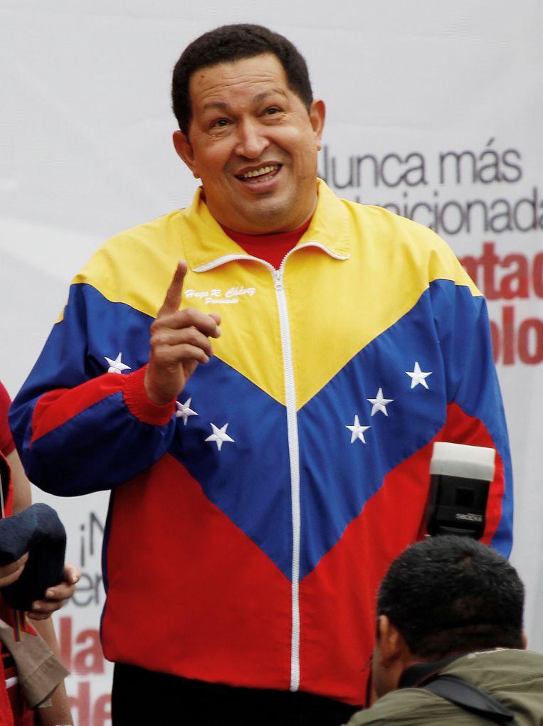 Hugo Chavez. Beeld AP