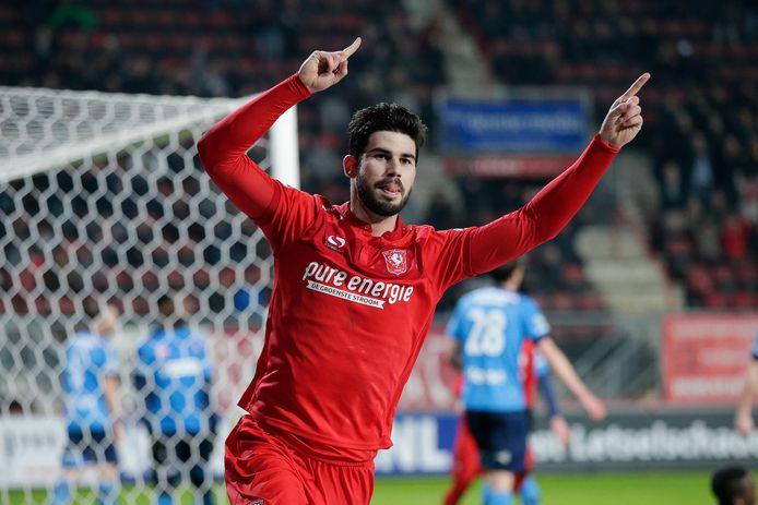 Nacho Monsalve werd vorig seizoen met FC Twente kampioen van de eerste divisie.