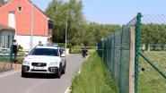 Vrachtwagen gevuld met bio-ethanol rijdt zich vast in Eggerstraat-Noord