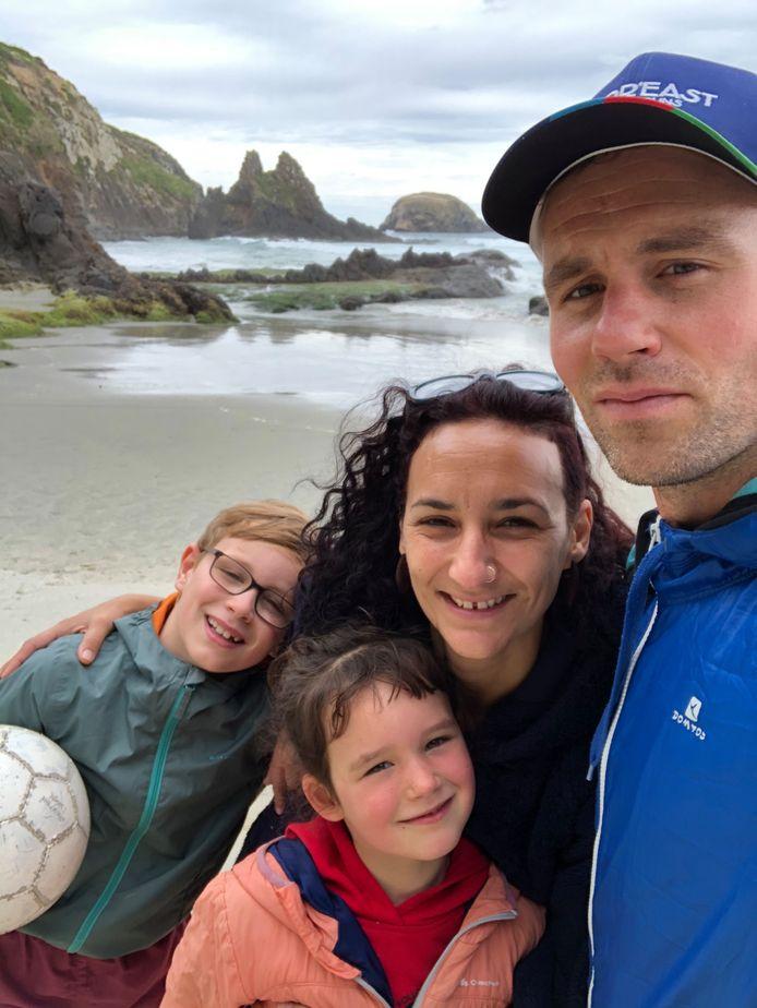 """Les """"Van den Broeckjes"""" voyagent à travers la Nouvelle Zélande depuis 2015."""