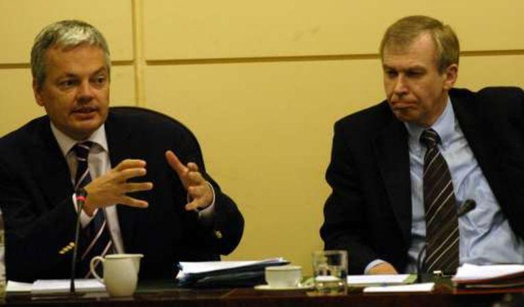 Reynders laat off the record verstaan dat hij zo'n onderzoekscommissie niet echt ziet zitten. Beeld UNKNOWN