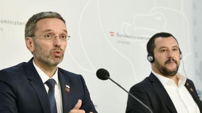 """Oostenrijkse minister: """"Screen migranten op zee"""""""