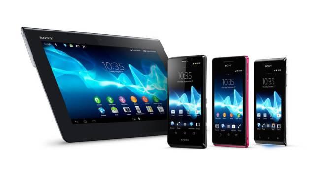 Sony lanceert nieuwe Xperia-smartphones en eerste tablet