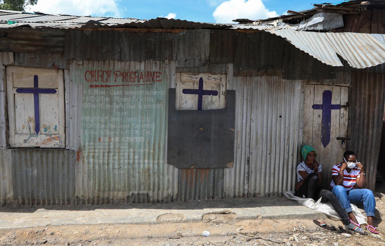 Kerken in Kenia zijn gesloten sinds ook daar het nieuwe coronavirus uitbrak.