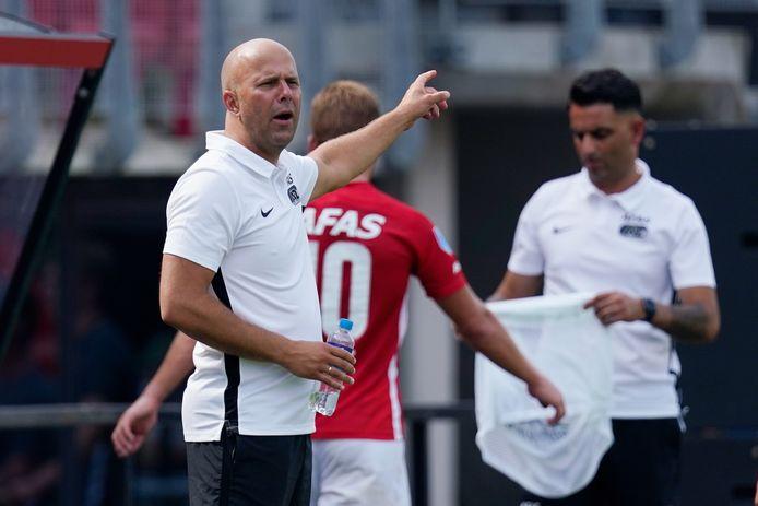 AZ-coach Arne Slot.