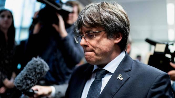 Italiaanse rechter laat Puigdemont vrij in afwachting van beslissing over zijn uitlevering